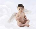 Portrait de bébé ange