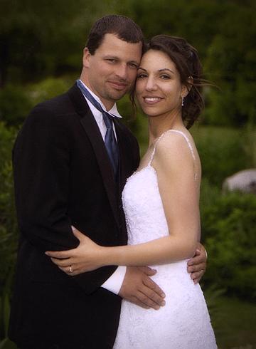 Couple maries mariage auberge des gallant ete photographe professionnel st phane larivi re - Photo de mariage couple ...