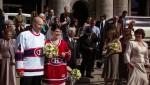 Clin d'oeil des mariés au Canadiens de Montréal