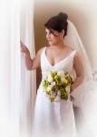 La mariée à la fenêtre